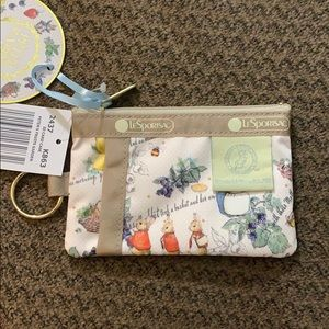 Lesportsac x Peter Rabbit ID case